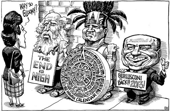 Wordt Berlusconi de volgende zwarte zwaan?