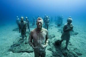 Onderwatermuseum van de schande