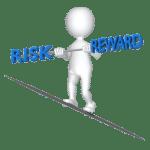 zonder risico geen beloning