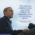 Obama tijdens verkiezingscampagne